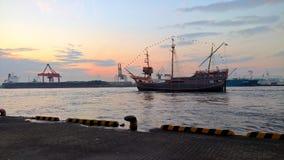 Barco del viaje de Santa Maria de Osaka Imágenes de archivo libres de regalías