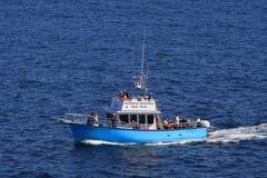 Barco del viaje del descubrimiento de la tierra del norte Fotos de archivo libres de regalías
