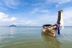Barco del viaje en Tailandia Foto de archivo libre de regalías