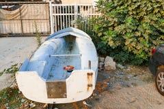 Barco descargado Imágenes de archivo libres de regalías