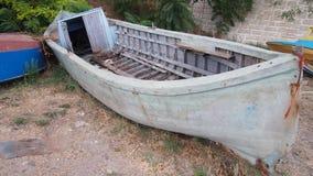 Barco destruído Fotografia de Stock Royalty Free