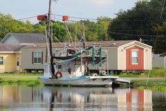 Barco do camar?o de Louisiana fotos de stock