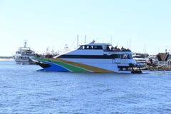 Barco do cruzeiro em Austrália Imagens de Stock Royalty Free