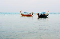 Barco do curso no mar de Andaman Fotografia de Stock Royalty Free