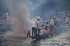 Barco do dragão Fotos de Stock