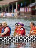 Barco do dragão das mulheres nacionais canadenses primeiro Imagens de Stock Royalty Free