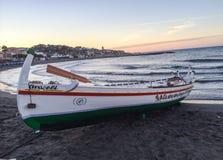 Barco do laga do ¡ de Jabega MÃ imagens de stock