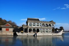 Barco do Pagoda Imagem de Stock Royalty Free