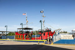 Barco do pirata do EL Loro em Miami Fotos de Stock