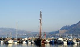 Barco do porto imagem de stock royalty free