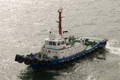 Barco do reboque Fotos de Stock