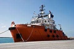 Barco do reboque Foto de Stock