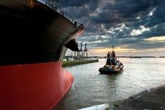 Barco do reboque Fotografia de Stock