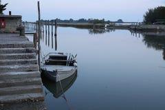 Barco do ` s do pescador entrado Imagem de Stock
