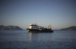 Barco do salvamento, Kas, Turquia Foto de Stock