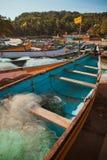 Barco dos homens de Fisher Fotografia de Stock