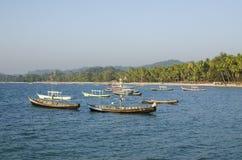Barco dos pescadores Fotos de Stock