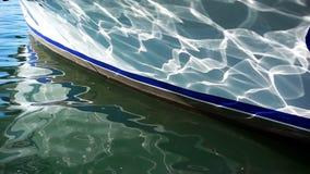 Barco e água de pesca video estoque