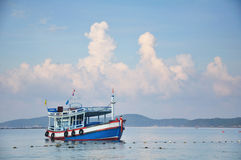 Barco e mar Fotografia de Stock