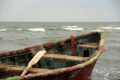 Barco e mar Foto de Stock Royalty Free