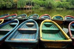 Barco em China imagem de stock