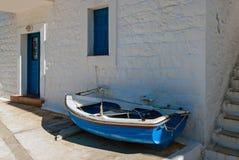 Barco em Greece Fotografia de Stock Royalty Free