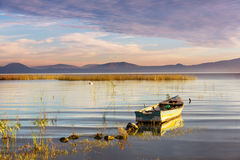 Barco em México fotografia de stock