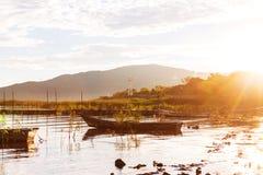 Barco em México imagens de stock