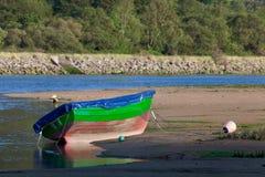 Barco em Oriñon Imagem de Stock Royalty Free