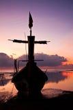 Barco em Tailândia. imagem de stock royalty free