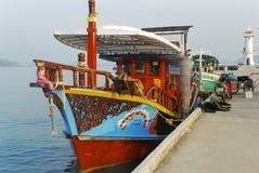Barco em Tailândia Fotos de Stock