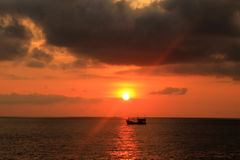 Barco em Tailândia Imagens de Stock