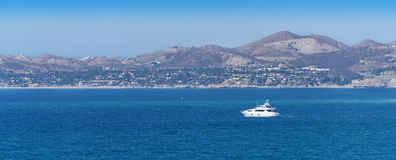 Barco en Cabo San Lucas Fotografía de archivo