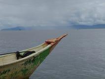 Barco en Chapala Foto de archivo libre de regalías