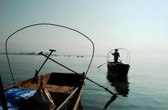 Barco en China fotografía de archivo libre de regalías