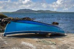 Barco en Connemara Foto de archivo libre de regalías