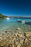 Barco en el agua Imagenes de archivo