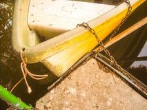 Barco en el agua Fotografía de archivo libre de regalías
