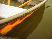 Barco en el agua Fotografía de archivo
