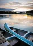Barco en el lago Imagen de archivo