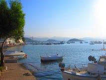 Barco en el laka Fotos de archivo
