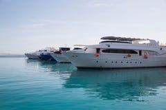 Barco en el Mar Rojo fotos de archivo libres de regalías