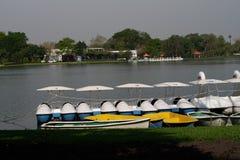 Barco en el parque Imagen de archivo