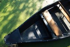 Barco en el poitevin Francia de los marais Imagenes de archivo