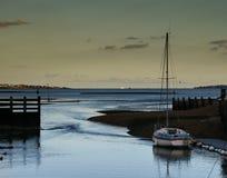 Barco en el puerto Fotografía de archivo