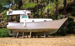 Barco en la acción Foto de archivo libre de regalías