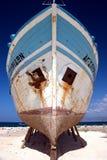 Barco en los zancos Imágenes de archivo libres de regalías
