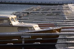 Barco en puerto Foto de archivo
