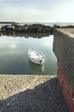 Barco en puerto Foto de archivo libre de regalías