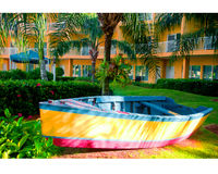 Barco ensolarado Fotografia de Stock